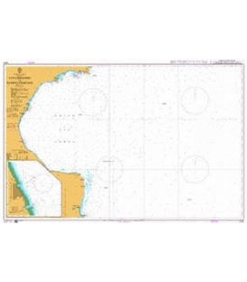 British Admiralty Nautical Chart 3332 San Gregorio to Puerto Deseado