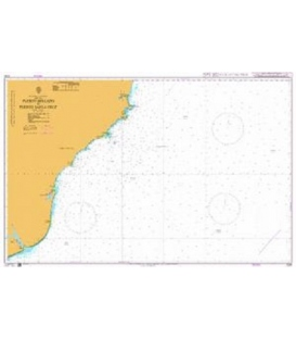 British Admiralty Nautical Chart 3334 Puerto Deseado To Puerto Santa Cruz