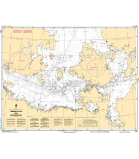 Canadian Nautical Chart 7083 Cambridge Bay to Shepherd Bay