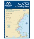 Cape Cod Canal to Casco Bay, Maine 1st Edition 2017