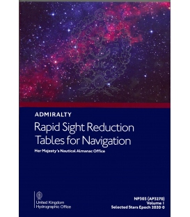 NP303(1) / AP3270(1) Rapid Sight Reduction Tables for Navigation Volume 1 Selected Stars Epoch 2020