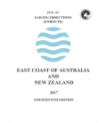 Sailing Directions Pub. 127 East Coast of Australia and New Zealand, 14th Edition 2017