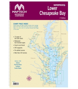 Lower Chesapeake Bay, 1st Edition 2017
