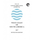Sailing Directions Pub. 125 West Coast of South America, 15th Edition 2017