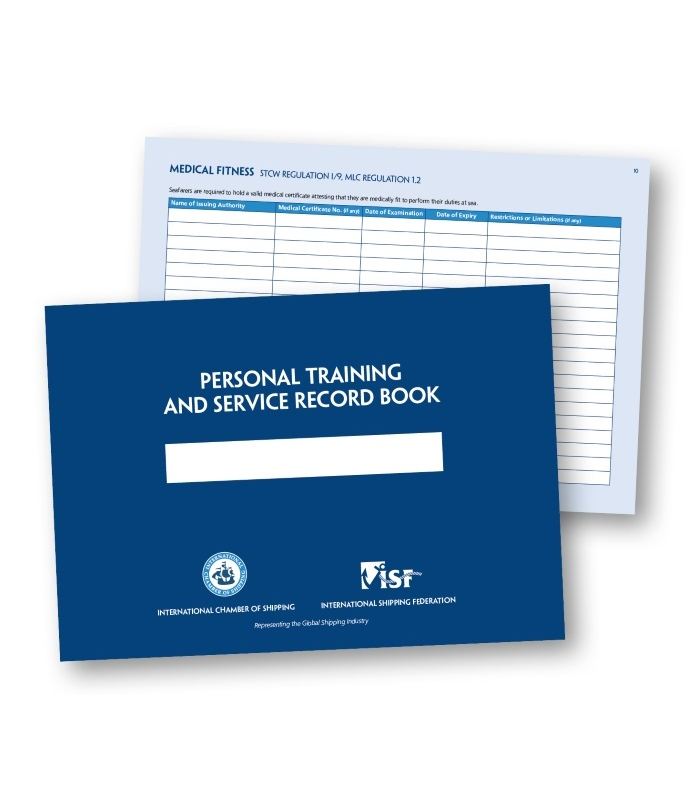 personal training and service record book 2nd edition 2017