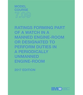 IMO T709E Model Course: Ratings Forming Part ... Watch ... Man. Eng Rm or Desig. Perform Duties ... Period. Unmanned Eng Rm