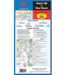 Maptech - Watch Hill to New Haven Waterproof Chart