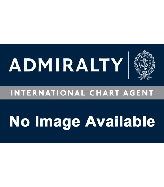 British Admiralty Nautical Chart 8296 Port Approach Guide Malmo & Kobenhavns Havn