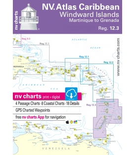 Region 12.3: Windward Islands, Martinique to Grenada 2018/2019