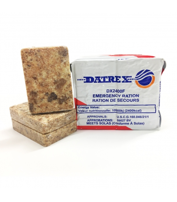 DATREX EMERGENCY FOOD RATION 2400 kcal 30 PACK CASE