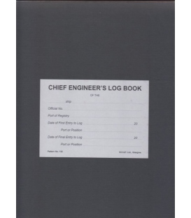 Chief Engineer's Log Book (No. 132)