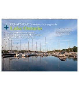 Lake Ontario Chartbook & Cruising Guide, 7th Edition 2018