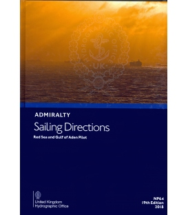 Admiralty Sailing Directions NP64 Red Sea And Gulf Of Aden Pilot, 20th Edition, 2021