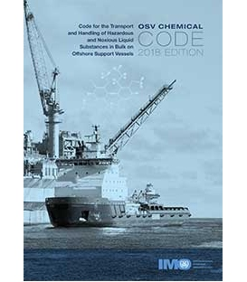 IMO IA289E OSV Chemical Code, 2018 Edition