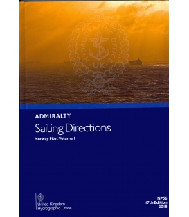 Admiralty Sailing Directions NP56 Norway Pilot, Vol 1, 17th Edition 2018