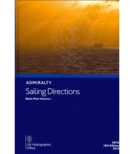 Admiralty Sailing Directions  NP18 Baltic Pilot, Vol. 1 18th Edition 2018