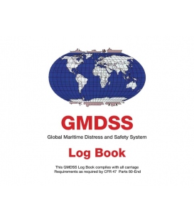 Global Maritime Distress and Safety System Log Book (96 Days)