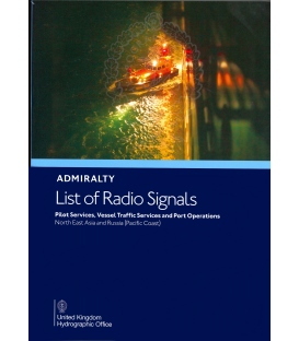 NP286(6): Admiralty List of Radio Signals: Volume 6 - Part 6, North East Asia and Russia (Pacific Coast), 2020 Edition