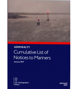 Cumulative List of Admiralty Notices to Mariners (Jan 2019)