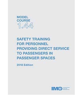 IMO e-Reader KT144E Model Course: Safety Training for Personnel Providing Direct Service to Passengers in Passenger Spaces , 201