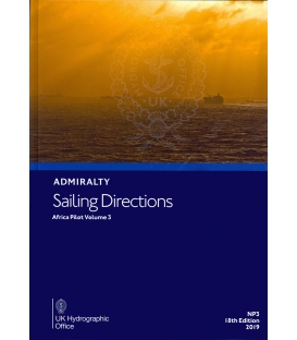 Admiralty Sailing Directions NP3 Africa Pilot, Vol 3, 18th Edition 2019