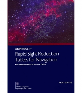 NP303(3) / AP3270(3) Rapid Sight Reduction Tables for Navigation Volume 3 Latitudes 39°-89° Declinations 0°-29°, 2020 Edition