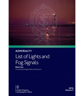 Admiralty List of Lights & Fog Signals NP76 Volume C: Baltic Sea including Kattegat, Belts and Sound, 1st Edition 2020