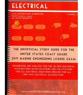 USCG Illustrations Workbook, Vol. 4 (Electrical) 2019 Edition