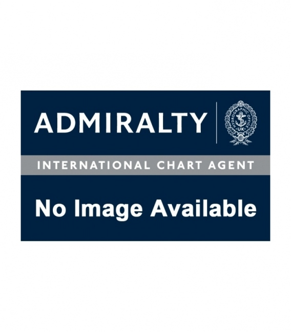 British Admiralty Nautical Chart 8306 Port Approach Guide, Approaches to Vancouver Habour
