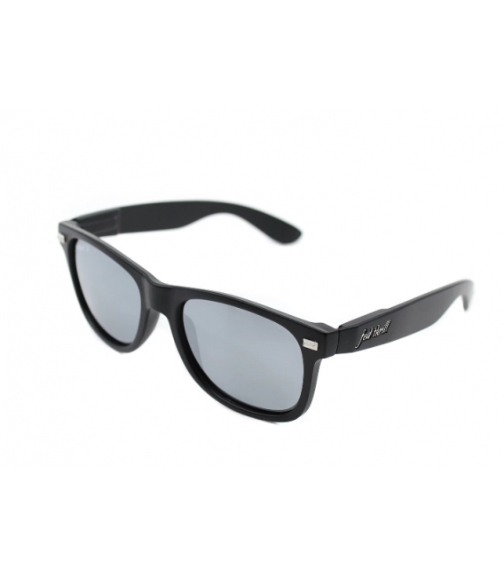 Fultons - Covert Ops: Matte Black / Mirrored Smoke Polarized
