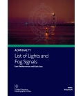 NP86 Admiralty List of Lights and Fog Signals Volume N: East Mediterranean and Black Seas, 2nd Edition 2021