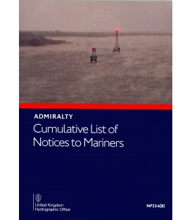 Admiralty Cumulative List of Notices to Mariners, NP234(B) (Jun 2020)