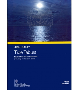 NP205 Admiralty Tide Tables (ATT) Volume 5, South China Sea and Indonesia (including Tidal Stream Tables), 2022 Edition