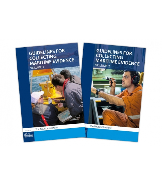 Guidelines for Collecting Maritime Evidence Volumes 1 & 2 - Set, 1st Edition 2019