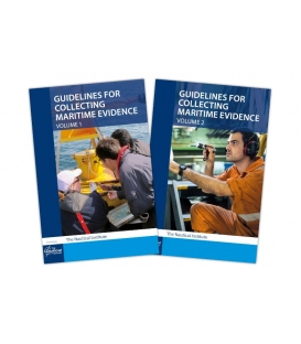 Guidelines for Collecting Maritime Evidence, Vol. 1 (1st, 2017) & Vol. 2 (1st, 2019) - Set
