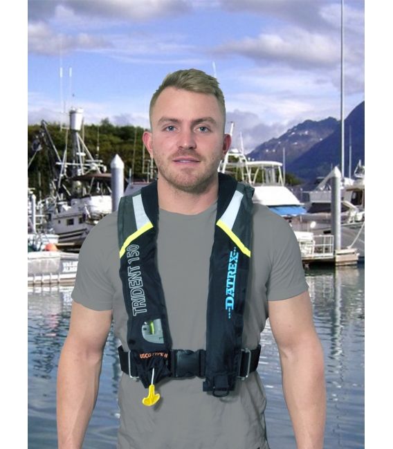 Datrex Trident 150 USCG Approved Type II Inflatable PFD