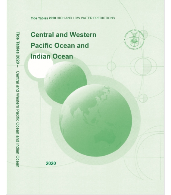 2020 NOAA Tide Tables: Central & Western Pacific Ocean