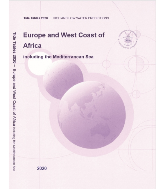 2020 NOAA Tide Tables: Europe and West Coasts of Africa