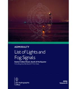 NP88 Admiralty List of Lights and Fog Signals Volume Q:  Eastern Indian Ocean South of the Equator, 2020/21
