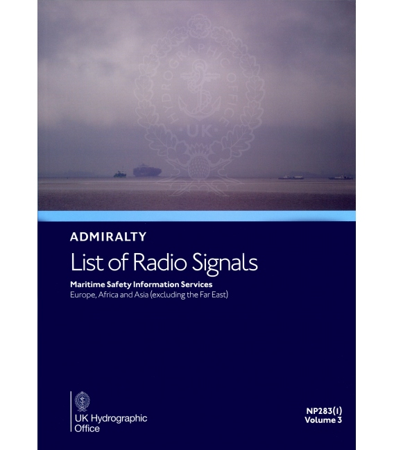NP283(1): Admiralty List of Radio Signals: Maritime Safety Information Services. Europe, Africa and Asia (excl. Far East)