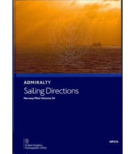 Admiralty Sailing Directions NP57A Norway Pilot, Vol 2A 13th Edition 2019