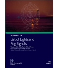 NP82 Admiralty List of Lights and Fog Signals Volume J: Western Side of North Atlantic Ocean, 1st Edition 2021