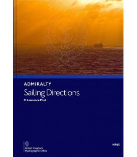 Admiralty Sailing Directions NP65 St Lawrence Pilot, 19th Edition 2020
