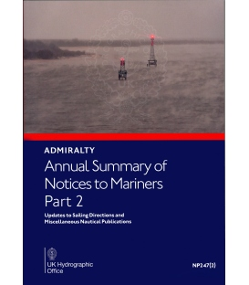 NP247(2) Annual Summary of Admiralty Notices to Mariners Part 2, 2021 Edition