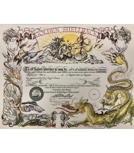 Golden Shellback Certificate