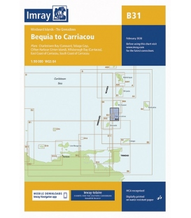 Imray Chart B31: Bequia to Carriacou