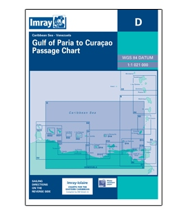 Imray Chart D: Gulf of Paria to Curacao (Curaçao)