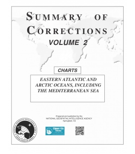 Summary of Corrections: Volume 2 - Eastern Atlantic and Arctic Oceans including the Mediterranean Sea, 2020 (Parts 1 & 2)