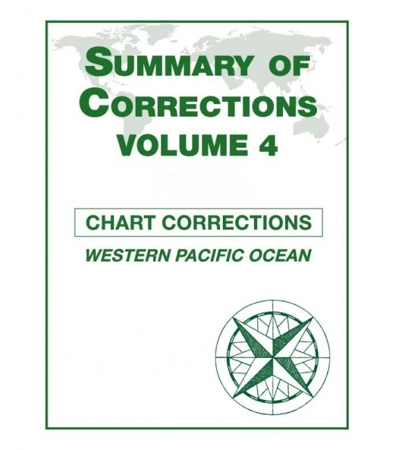 Summary of Corrections: Volume 4 - Western Pacific Ocean, 2020