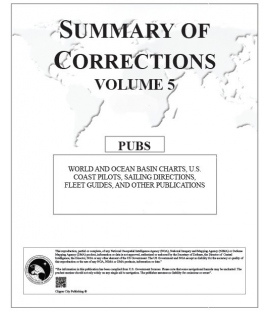 Summary of Corrections: Volume 5 - World and Ocean Basin Charts, US Coast Pilots 2020